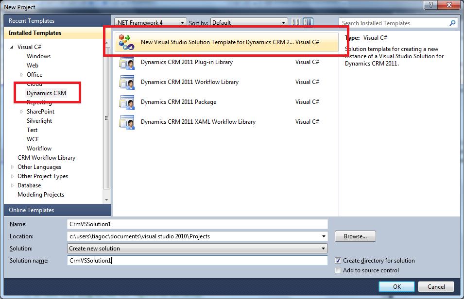CRM 2011 - Plugin CRM Online (1/6)