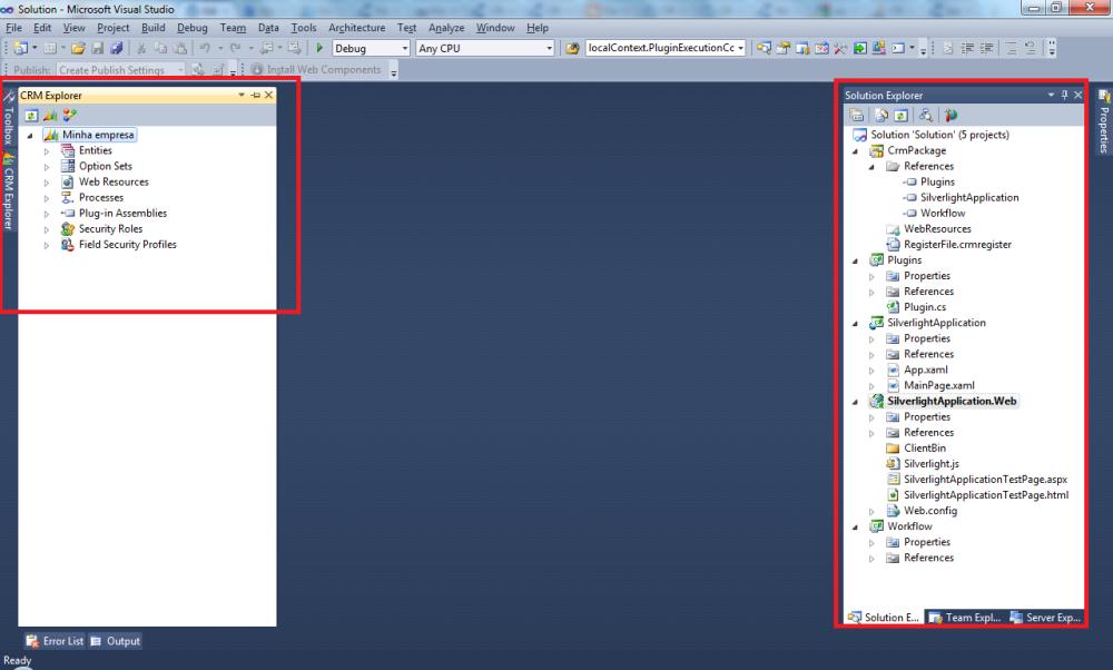 CRM 2011 - Plugin CRM Online (3/6)