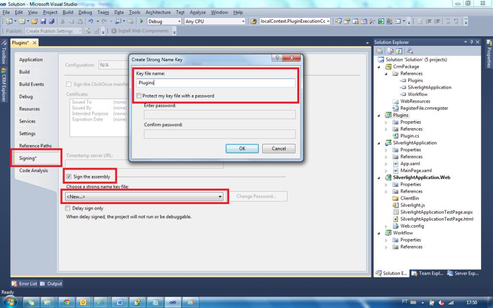 CRM 2011 - Plugin CRM Online (5/6)
