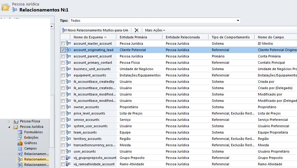 CRM 2011 - Mapeamento de Atributos (1/6)