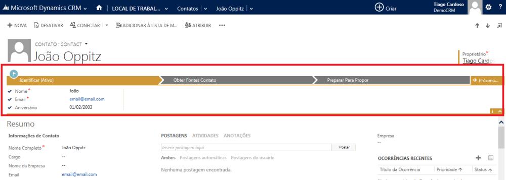 CRM 2013 - Processos (Processos de Negócio) (4/4)